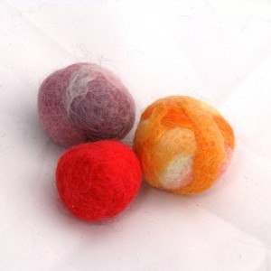 Colored Wool Balls