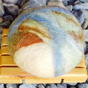coconut felt soap