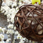 bamboo bird nesting ball
